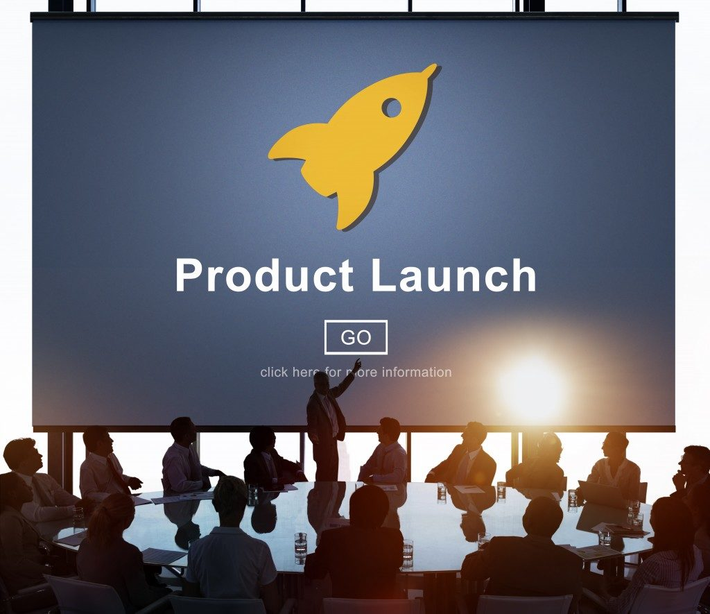 product launch meeting