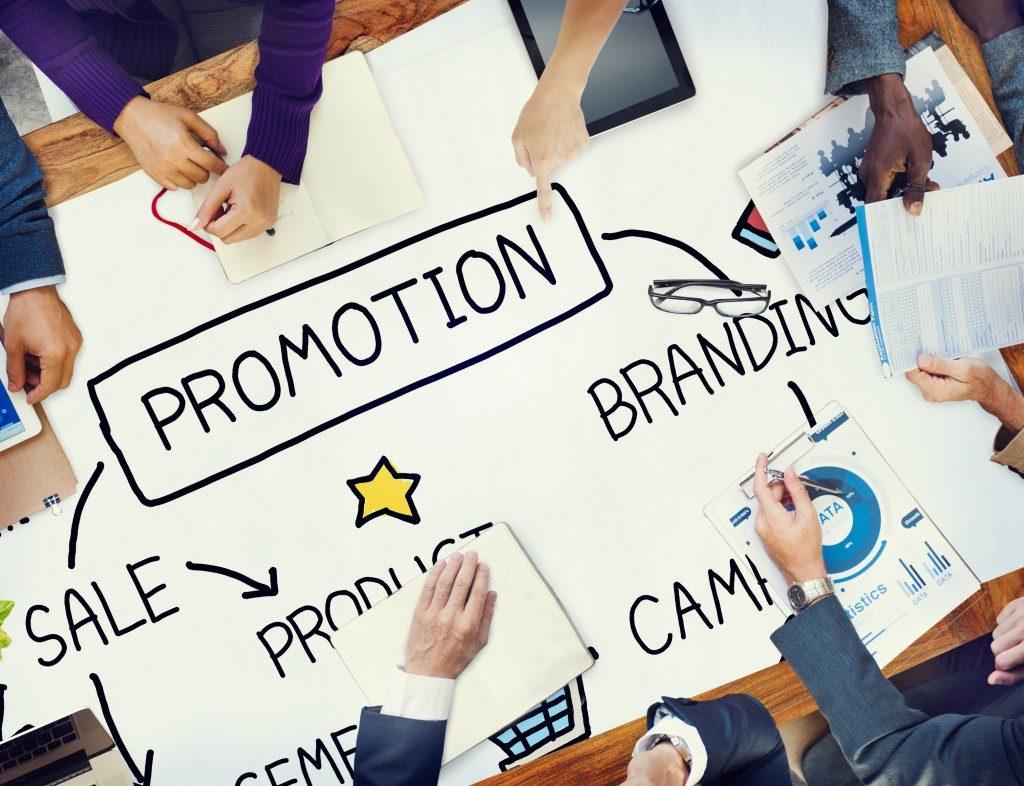 Promotion Advertisement Sale Branding Marketing Concept