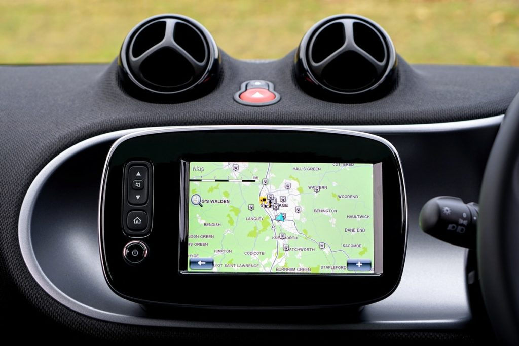 Car's built in GPS
