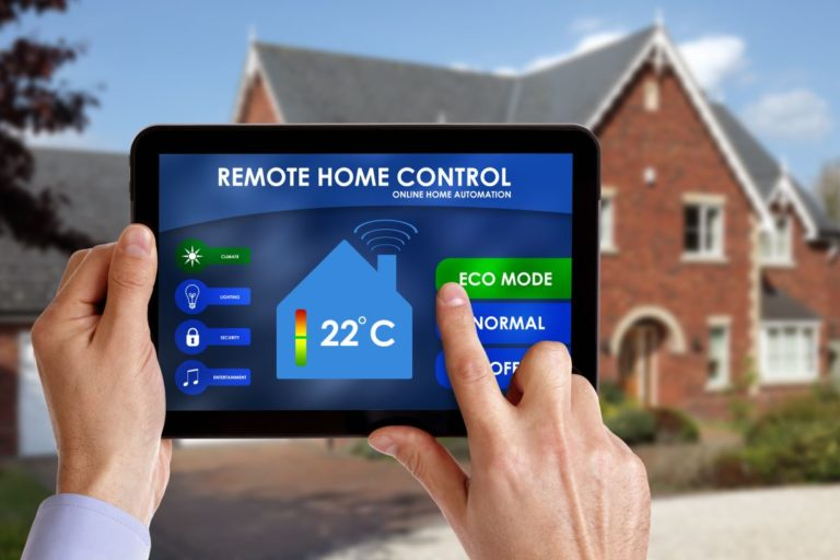 home remote control tablet
