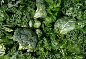 assorted green foods