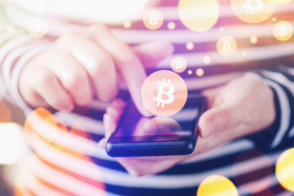 buying crypto using cellphone